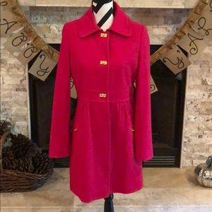 Gorgeous DKNY Hot Pink Coat